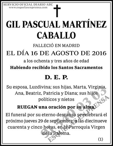 Gil Pascual Martínez Caballo
